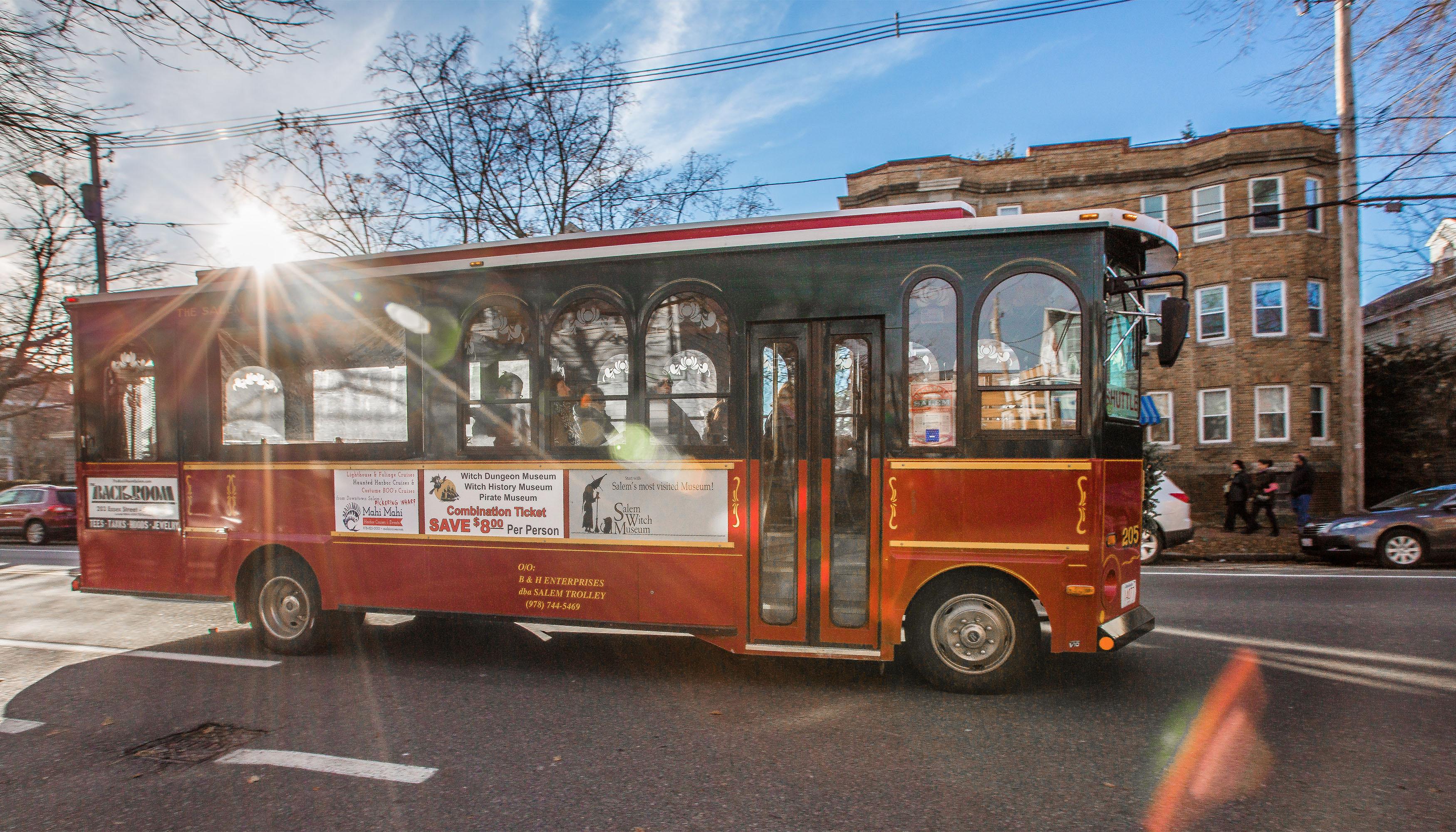 Trolley Tour Salem, MA